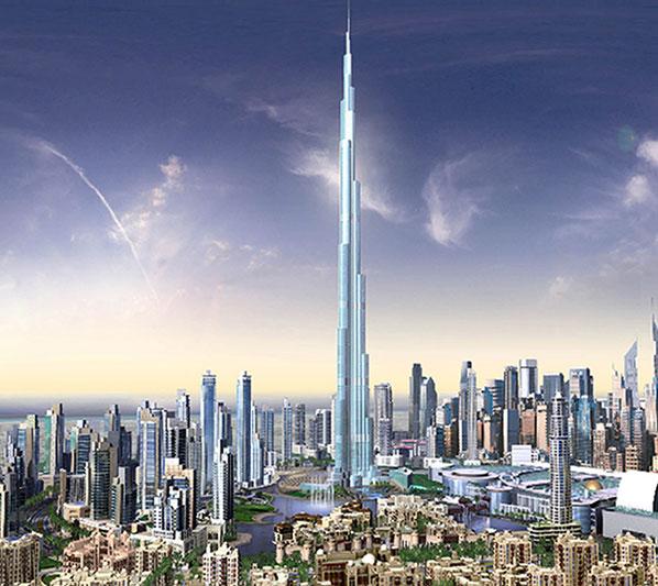 أروع المناطق السياحية في دبي Burj-dubai